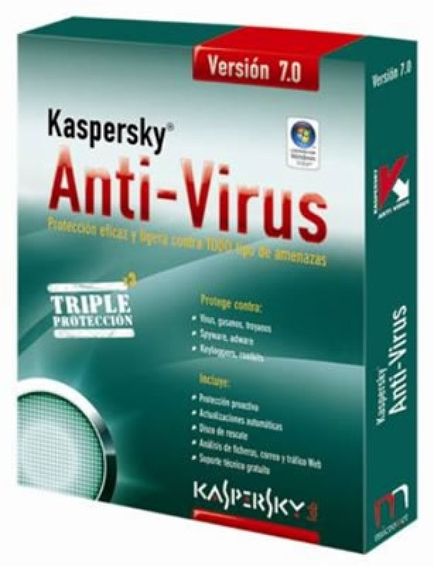 Programa Antivírus Kaspersky para Windows Server 2008